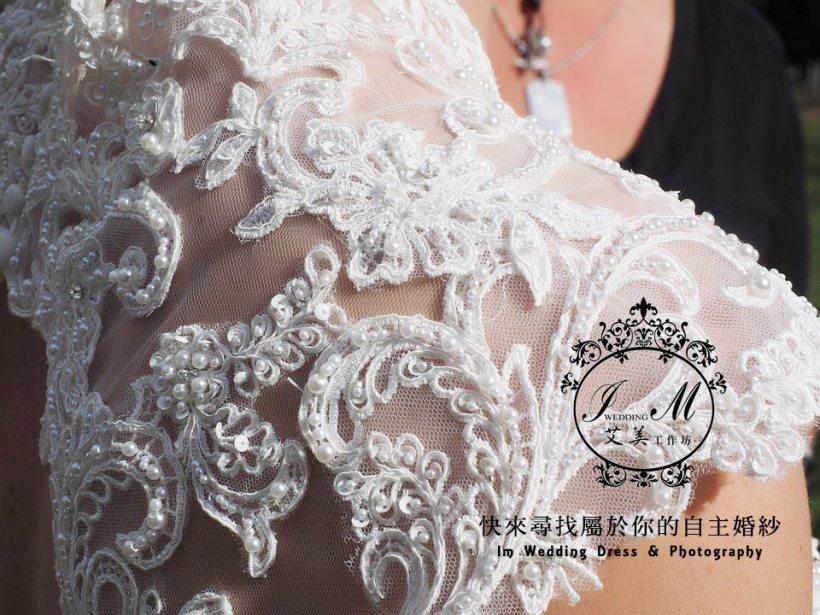 法式手工婚紗與手工禮服訂製