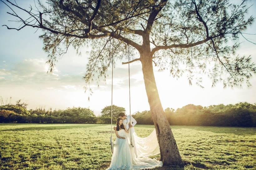 婚紗攝影與自助婚紗工作室